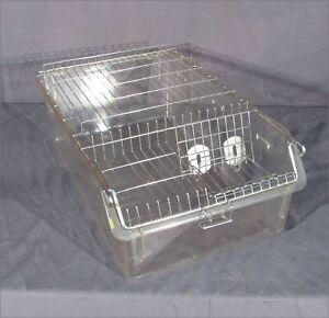 "22"" X 13"" X 8"" RAT/GERBIL/GUINEA PIG LABORATORY CAGE"