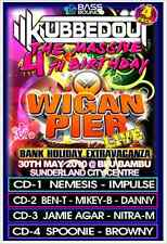 KLUBBEDOUT Vs WIGAN PIER 4TH BIRTHDAY BASH