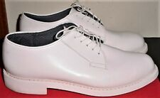 US Navy Mens Dress White Shoes / 10.5