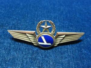 """Orig Vintage Obsolete Master Pilot Wing """"Eastern Airlines"""""""