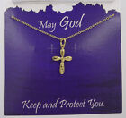 New Inspirational Crucifix Cross Necklace Made in USA #RN6