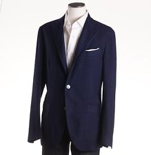 NWT $1425 BOGLIOLI Navy Blue Check Wool 'K Jacket' 38 R (Eu 48) Sport Coat