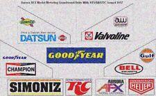 HO 1974 AFX Aurora Grandstand Units REVAMATIC Sound 1457 REPRODUCTION STICKER