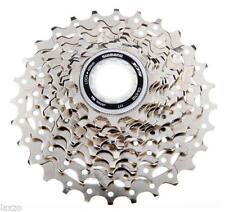 Cassettes y piñones de aluminio para bicicletas con 10 velocidades