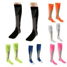 Unisex Compression Long Socks Performance Athletic Sports Running Stockings