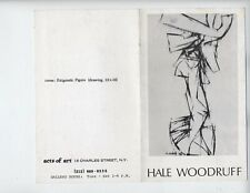 HALE WOODRUFF AFRICAN AMERICAN ARTIST 3 PAMPHLETS 1975 1980 1975 VERY RARE