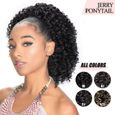 Aisi Beauty Short Afro Curly Ponytail Hair Piece For African American Black Wome
