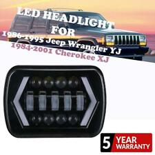 "1Pc 5X7"" 7x6 inch Rectangle LED Cree Headlight Beam DRL for Toyota Pickup Truck"