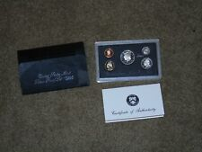 1995 US Mint SILVER Proof Set Gem Coins w/ Box & COA - - San Francisco Mint