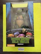 "Neca Donatello Teenage Mutant Ninja Turtles 1990 18"" inch Scale 1/4 Figure New"