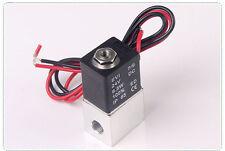 Electric Air Solenoid Valve Zero Pressure Valve 1/8