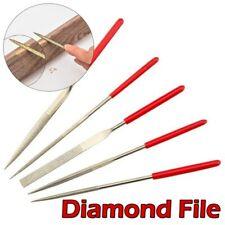 Mini File Set 5pcs Wood Rasp File Needle Woodworking DIY Folder Hobby Hand Tools