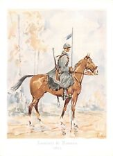 4868) CODROIPO (UDINE), CAVALLERIA, LANCIERI DI NOVARA. UNIFORME DEL 1915.