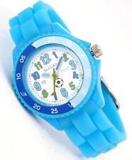 Tikkers Children's Time insegnanti Calcio Blu Cinturino Orologio in Silicone-ntk0006
