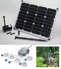 30W Solarpumpe Teichbelüfter Pumpe Solar Teichpumpe Gartenteich Sauerstoff NEU !