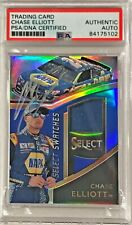 2017 Panini Select Chase Elliott Race Used Fire Suit Signed Auto Card PSA/DNA