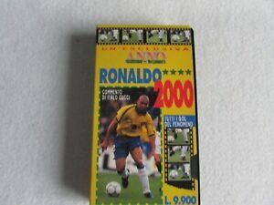 VHS Videocassetta Ronaldo 2000 Guerin sportivo Inter Brasile 1997