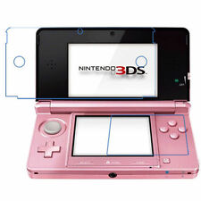 3 sets(6 PCS) Clear LCD Screen Protector Guard Film Cover for Nintendo 3DS
