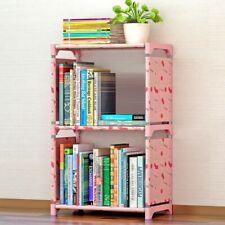 Simple Bookshelf with 2 Layers for Hallway Dorm Bedroom Small Bookshelf Ref Book