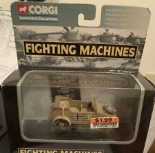 2002 Corgi Fighting Machines El Alimein Kubelwagen Afrika Corps Diecast Car NIB