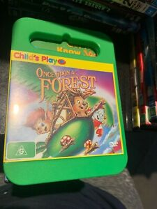 Once Upon A Forest (DVD, 2003) Region 4 Rare