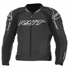 RST1425 Tractech Evo 2 Leather Motorcycle Jacket Black 38