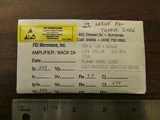 Fei Microwave Large Pill Tunnel Diode Nos