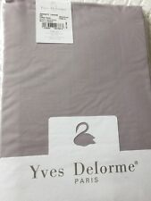 Yves Delorme SERENITY LAVANDE PERCALE Fitted Sheet 190/210CMS