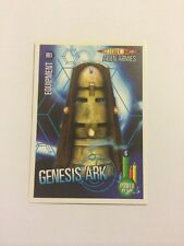 DOCTOR WHO- ALIEN ARMIES- TRADING CARD GAME- 003-GENESIS ARK- MINT