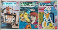 Robotech (lot of 3) The Macross Saga #7, Special #1, The New Generation #5