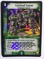 Duel Masters DM10 7/110 Carnival Totem Shockwaves of the Shattered Rainbow WOTC