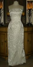 New With Tags Low Price Jessica McClintock White Wedding Dress Floral 8
