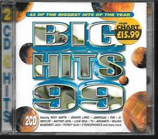2 CD COMPIL 42 TITRES--BIG HITS 99--LOPEZ/FIVE/SEGA/MOLOKO/STEREOPHONICS...