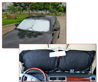 Front Rear Car Window Foldable Sun Shade Shield Reflective Cover Visor UV Block