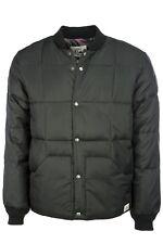Quiksilver Bomber Jacket Black size Large NEW