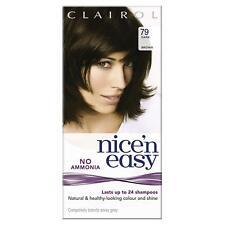 Clairol Nice'n Easy Semi-Permanent Hair Dye No Ammonia 79 Dark Brown