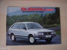 Subaru 4WD (1800 Turismo, Sedan, Station, Super-Station), Prospekt, CH (D)