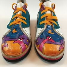 SoleTech Shoes Funky Multi-Colored Shoes SIZE 7.5