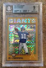 Eli Manning Rookie RC XFractor BGS 9 Mint 2004 Topps Chrome Serial #d 161/279!