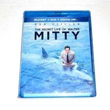 The Secret Life of Walter Mitty Blu-ray DVD  2-Disc Set NEW