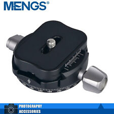 MENGS PAN-B2 Panorama Klemme für DSLR Kamera Kompatibe Arca-Swiss Standard- Grau