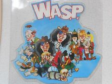"W.A.S.P.- ""The Real Me"" shaped vinyl picture disc single.UK CLPD534 CAPITOL 1989"