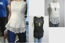Women's Lace Sleeveless Evening, Occasion Tops & Blouses