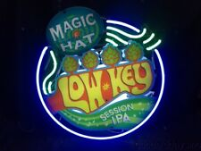 """Magic Hat Session IPS 3D Neon Beer Sign Bar Light 24"""" by 24"""""""