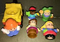 Fisher Price Little People: Tow Truck w/sounds & 5 Different Little People