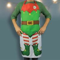 Adult Elf Apron Novelty Christmas Kitchen Cooking Gift RRP £19.95