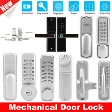 Digital Door Lock Set Waterproof Password Push Button Combination Keyless Entry