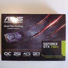 ASUS NVIDIA GeForce GTX 750 Ti (2GB)  Grafikkarte OC