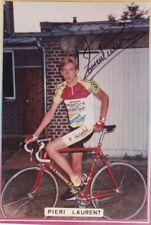 CYCLISME repro PHOTO cycliste PIERI LAURENT équipe MOSOCA EUROCAR signée