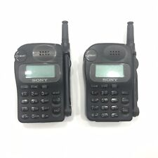 (Collectible) Sony Cell Phone Cm-Rx100 1996 Approx In Service Date Lot Of 2